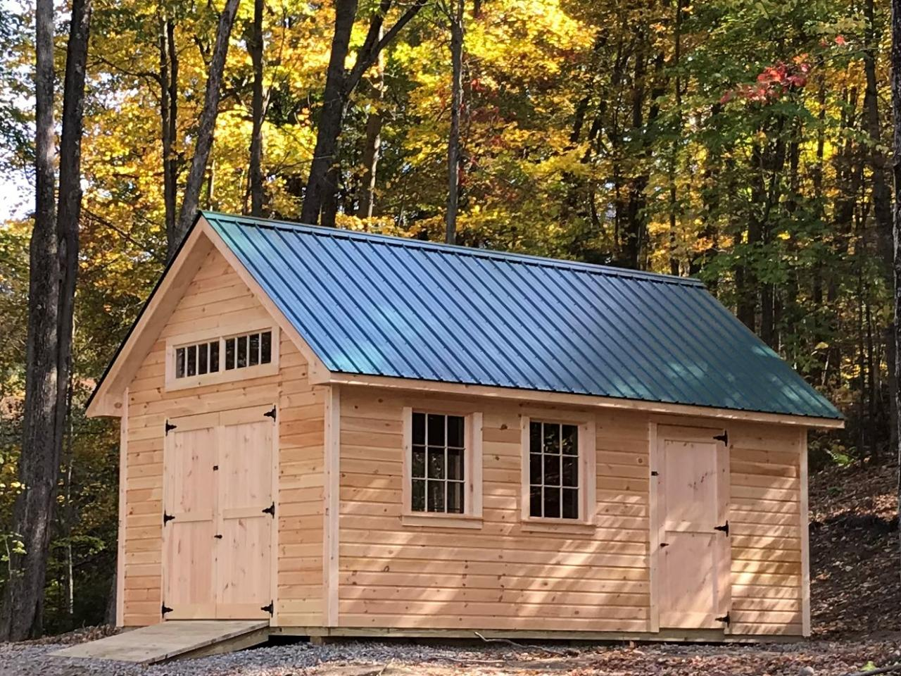 Vermont Custom Sheds What Type Of Shed Do You Need