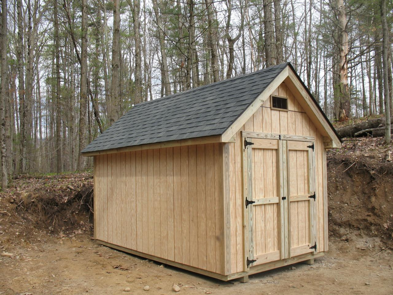 Custom Sheds And Barns : Vermont sheds and barns custom built on site