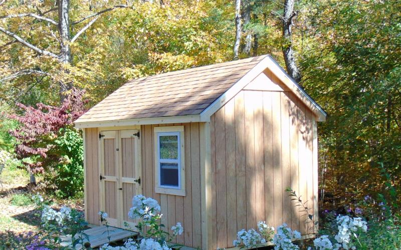A simple but really great looking shed!