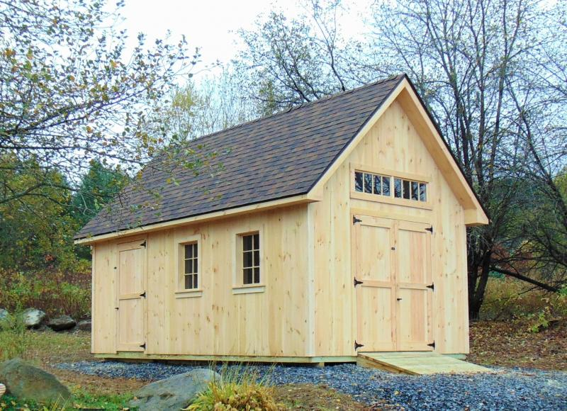 Moretown, Vermont 12x20 Custom Shed