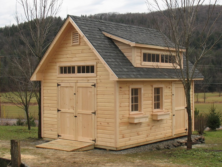 Vermont sheds and barns custom built on site vermont Outbuildings and sheds