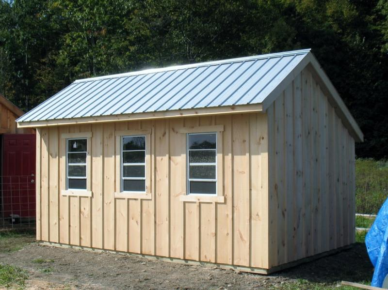 Saltbox Shed