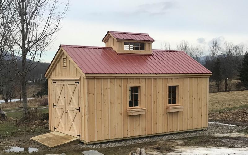 12x20 Custom Sugar House in Manchester, Vermont
